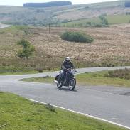 John on the Thruxton
