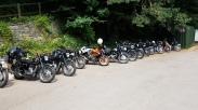 Bikes at The Old Railway Station Tintern