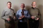 Dave Hoskins, Rob Jones and Richard Williams with Western Region Championship Awards.