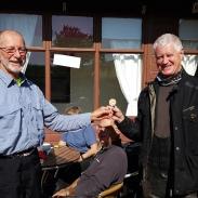Graham awards Roger's Prize